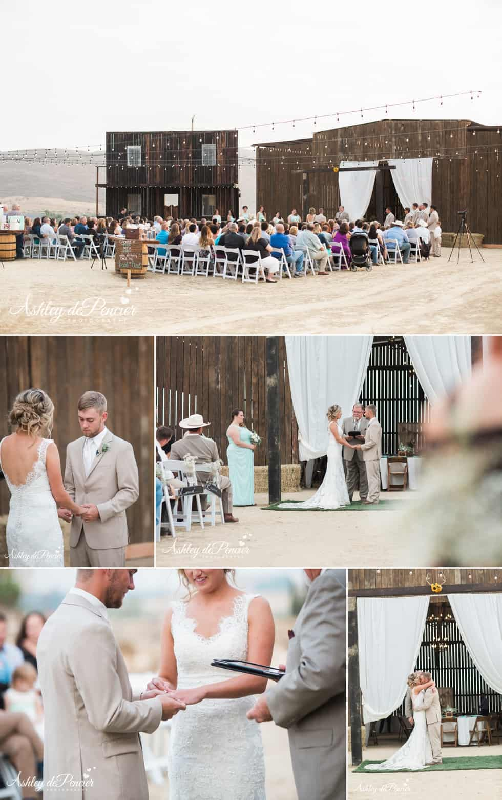 Breann and Kyle's Rustic Wedding 23