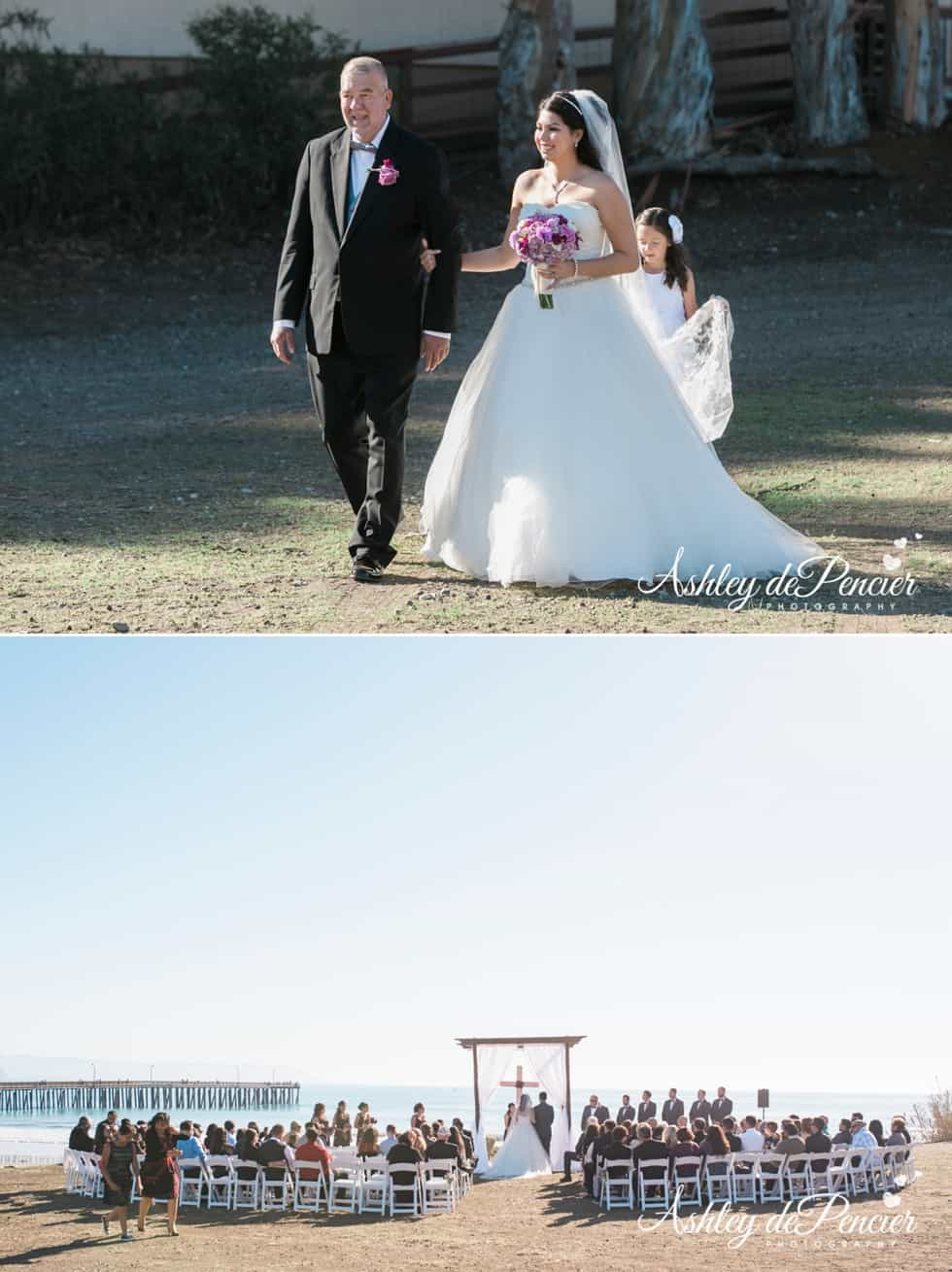 Cayucus beach wedding 5