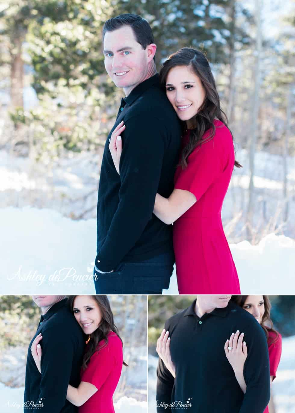 Mammoth winter engagement session 13