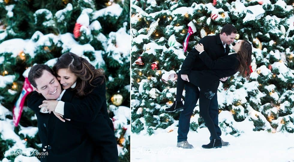 Mammoth winter engagement session 16