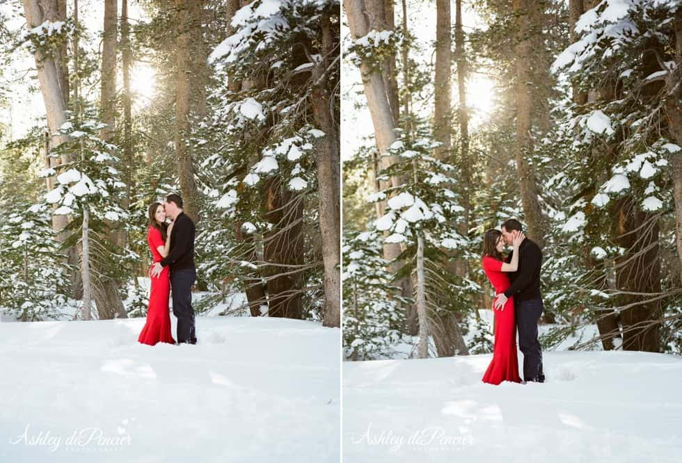 Mammoth winter engagement session 3