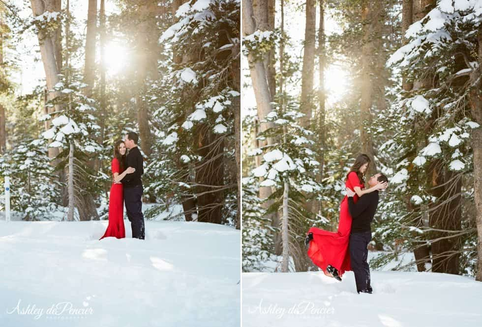 Mammoth winter engagement session 4