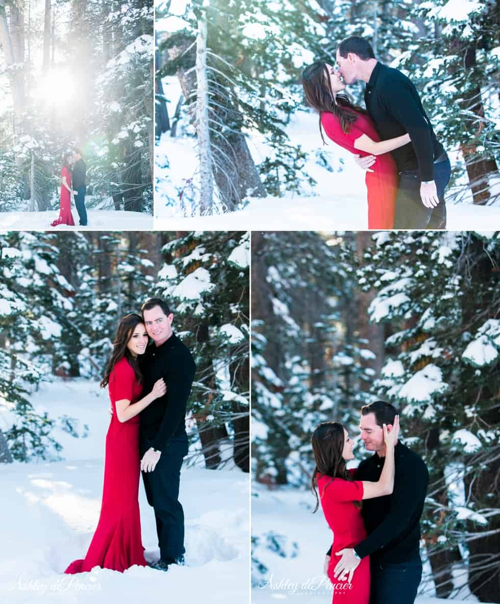 Mammoth winter engagement session 5