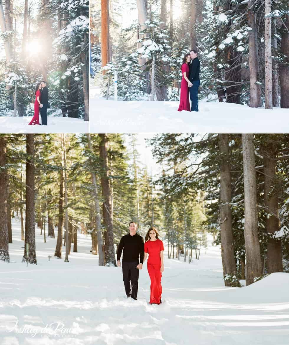 Mammoth winter engagement session 6