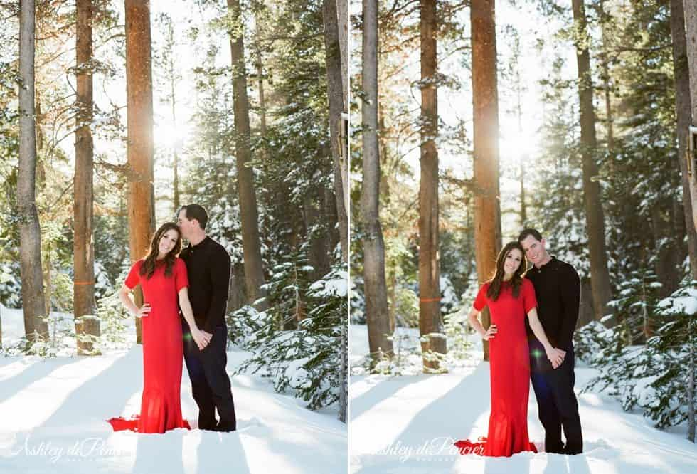 Mammoth winter engagement session 8