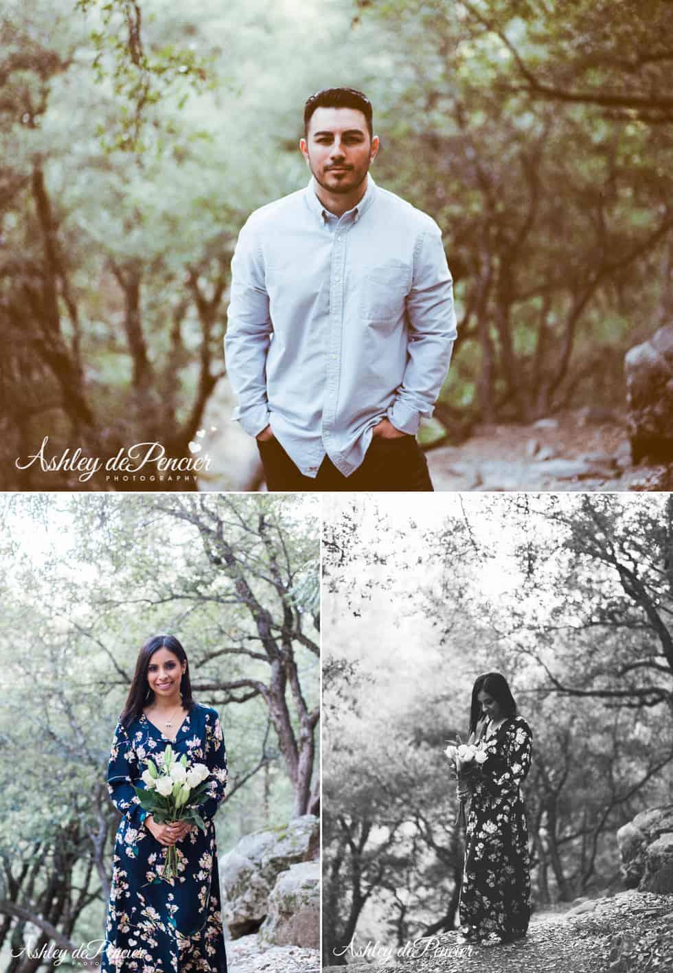 Yosemite Engagement Portraits