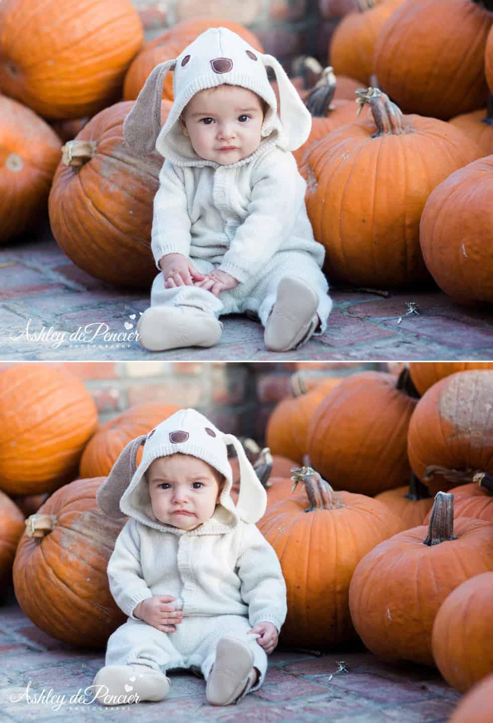Little boy dressed in his halloween costume