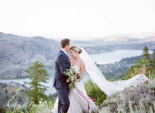 June Lake Wedding Portraits