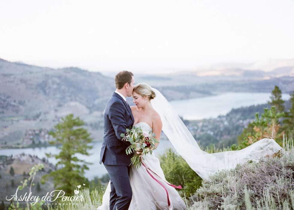June Lake Wedding Portraits